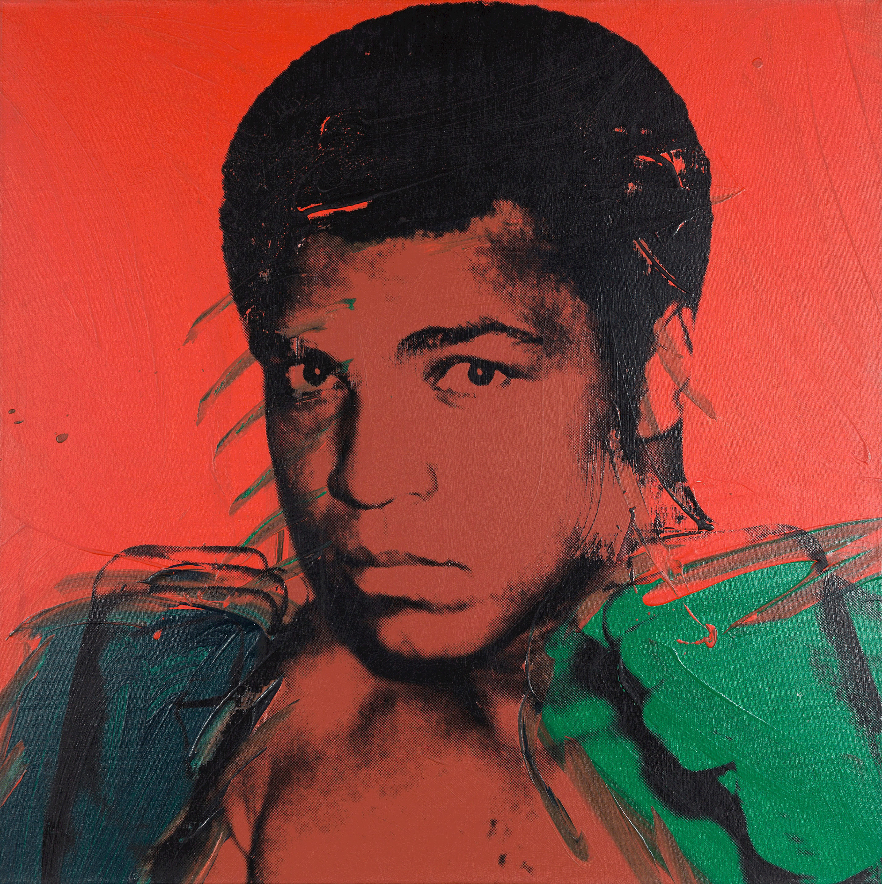 Muhammad Ali von Andy Warhol, 1978, Private collection, Copyright: 2017 The Andy Warhol Foundation for the Visual Arts, Inc. / Artists Rights Society (ARS), New York and DACS, London