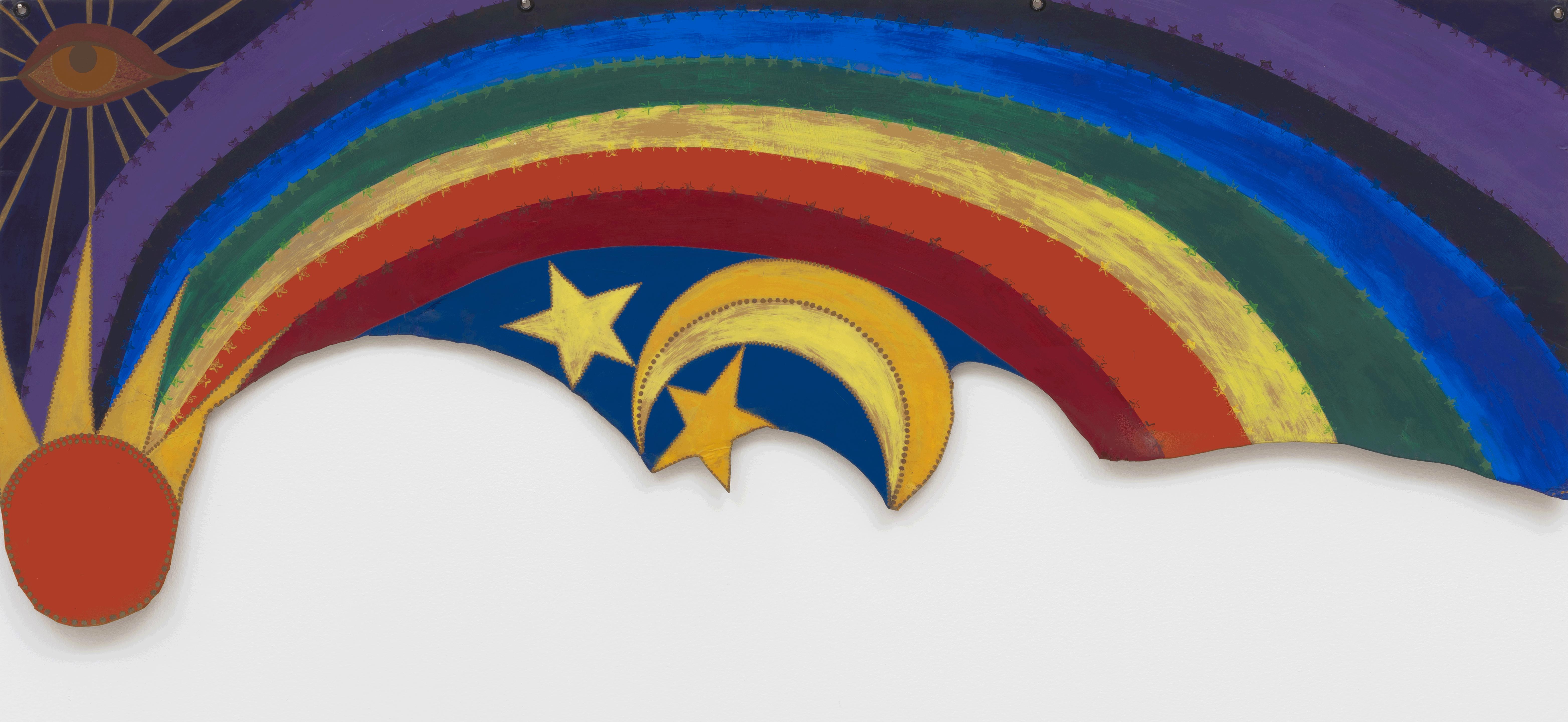 Rainbow Mojo von Betye Saar, 1972, Paul-Michael diMeglio, New York, Copyright: Betye Saar. Courtesy of the artist and Roberts & Tilton, Los Angeles, California