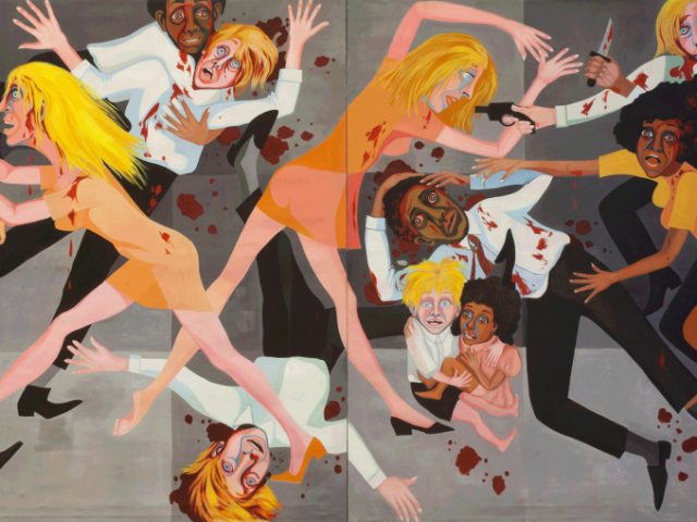 American People Series #20: Die von Faith Ringgold, 1967, The Museum of Modern Art, New York. Purchase; and gift of the Modern Women's Fund, Copyright: Faith Ringgold