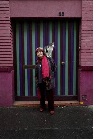 """Bild aus der Dokumention """"Augenblicke - Gesichter einer Reise"""" von und mit Agnès Varda."""