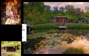 Wohnen wie die Hobbits, in diesem Erdhaus in Neuseland ist das möglich. Das Haus stammt aus dem Buch Zauberhütten, welches im Gestalten Verlag erschienen ist.